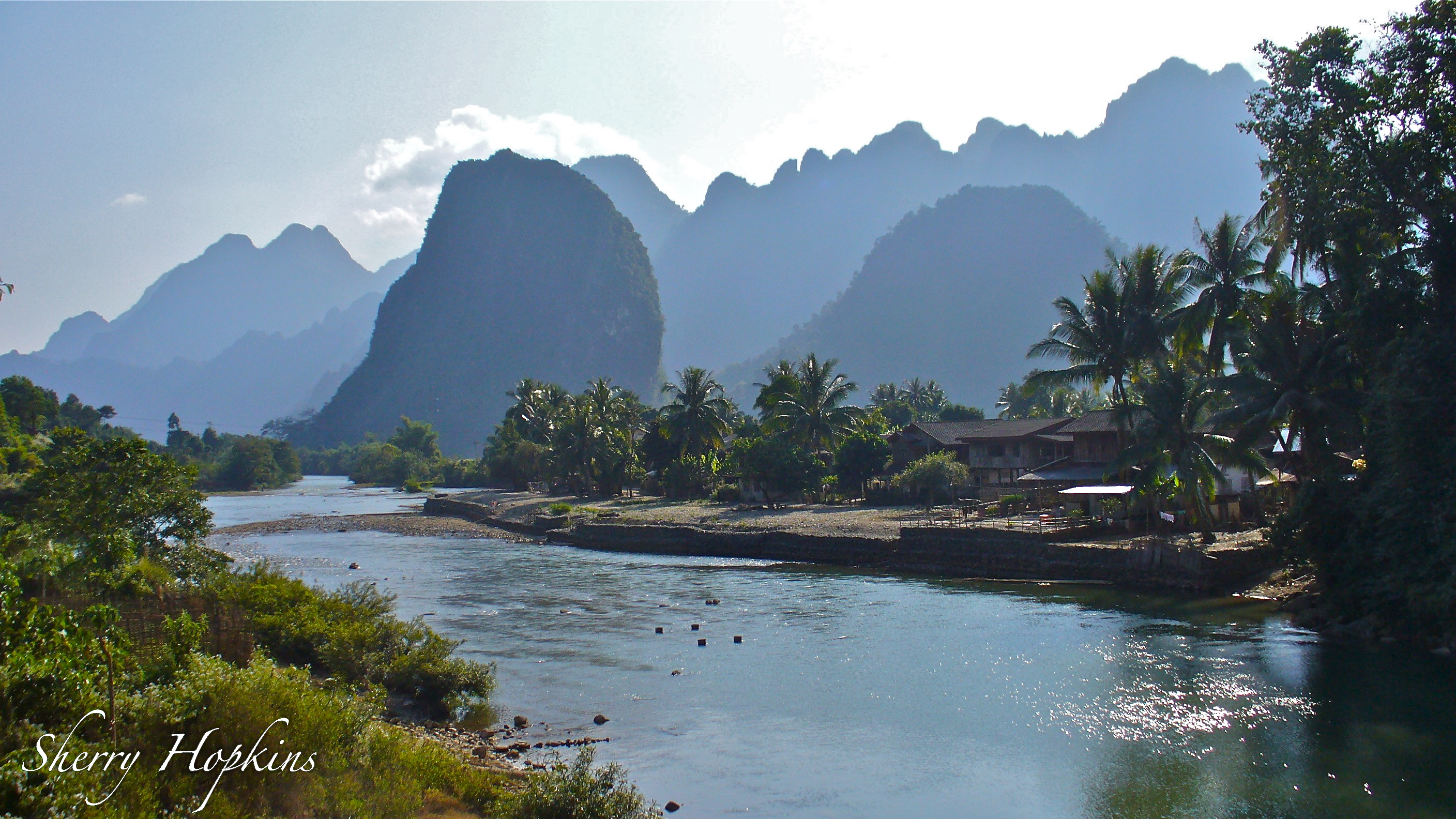 Vang Vieng Laos  city pictures gallery : Haystack Giggles in Vang Vieng, Laos | Fabulous 50's