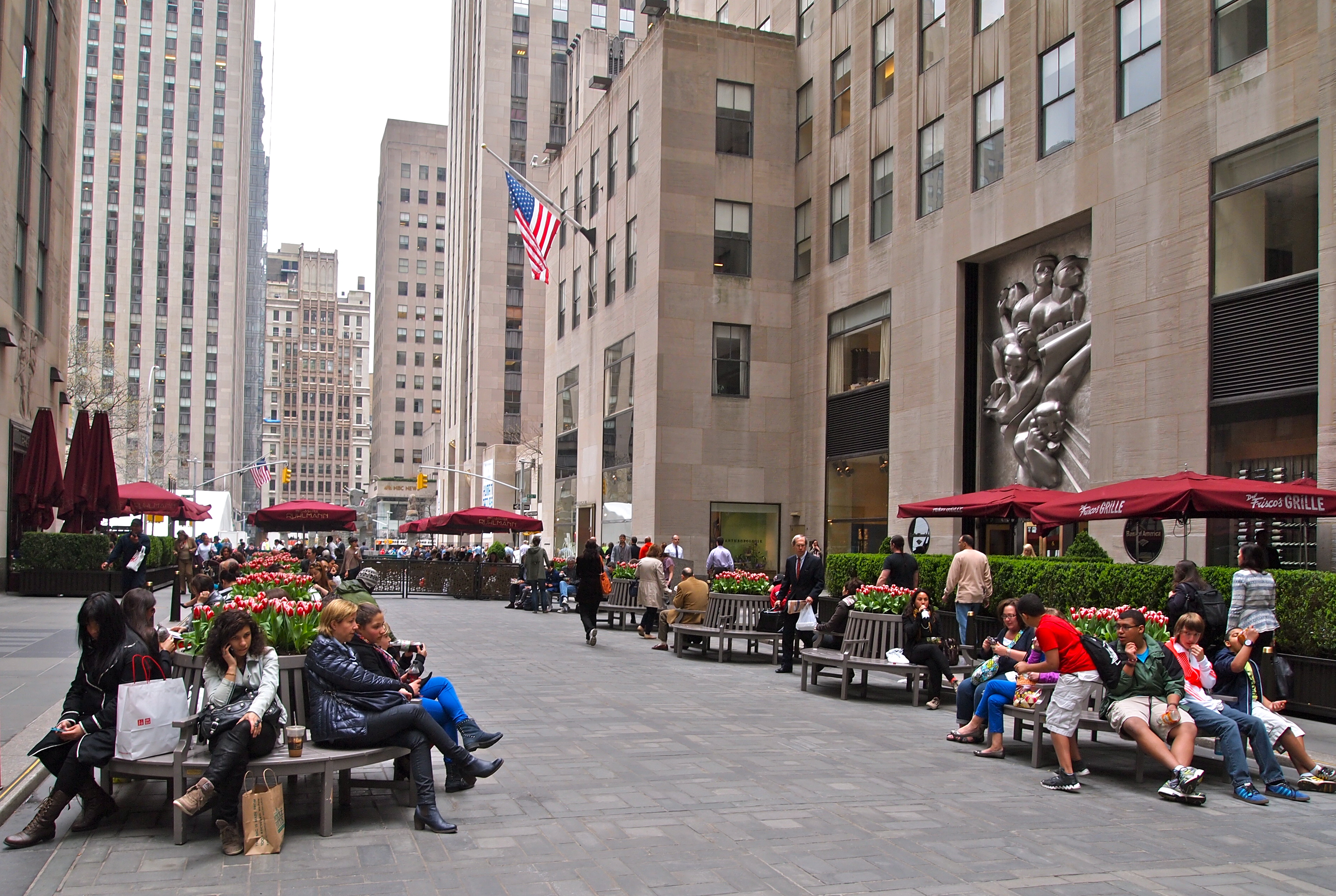 Camera Rockefeller Center : Rockefeller center in spring fabulous s